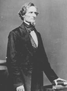 Confederate President Jefferson Davis | Image Credit: Wikispaces.com