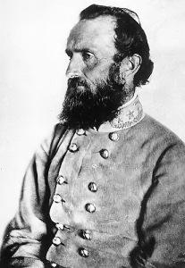 "Confederate General Thomas ""Stonewall"" Jackson | Image Credit: Bing public domain"