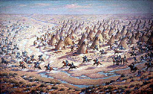 The Sand Creek Massacre | Image Credit: Flickr.com