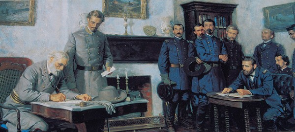 Lee Surrenders to Grant | Image Credit: Flickr.com