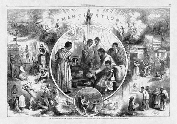 Celebrating the end of slavery | Image Credit: Wikispaces.com