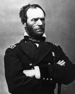 Federal Maj Gen W.T. Sherman | Image Credit: collaborationnation.wikispaces.com