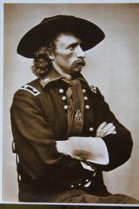 Brig Gen G.A. Custer | Image Credit: claseshistoria.com