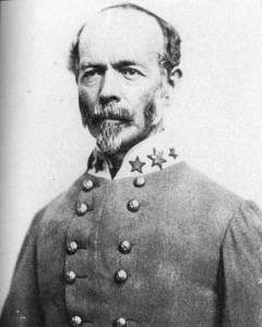 Confederate General J.E. Johnston | Image Credit: CivilWarDailyGazette.com
