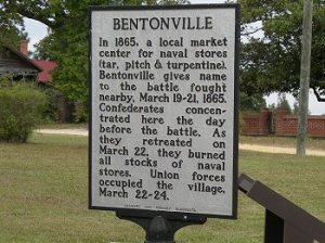 The Bentonville Dedication | Image Credit: Wikispaces.com