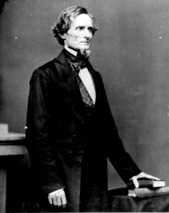 Confederate President Jefferson Davis | Image Credit: gettysburgdaily.com