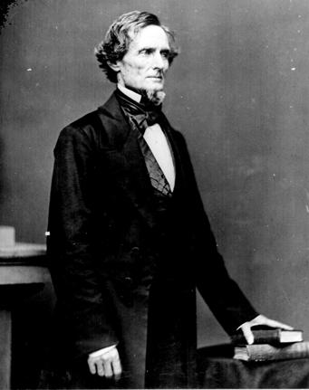 Confederate President Jefferson Davis | Image Credit: gettysburgdaily.com