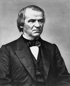 17th U.S. President Andrew Johnson | Image Credit: learnnc.org
