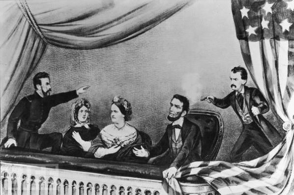 Booth Shoots Lincoln | Image Credit: Bing public domain