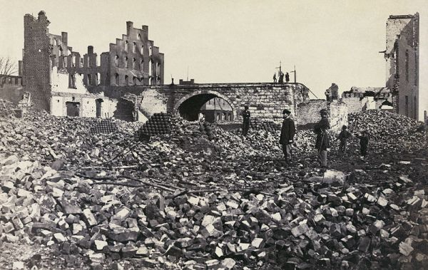 Richmond in ruins | Image Credit: familysearch.org