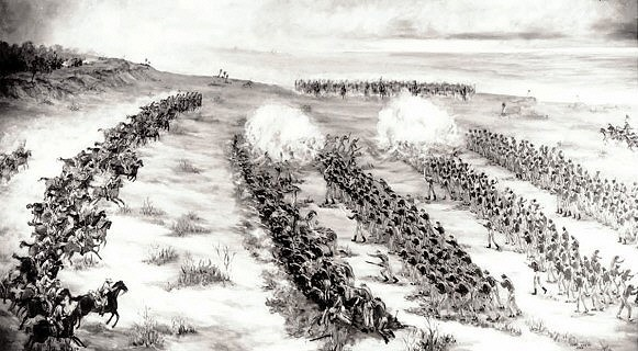 The Battle of Palmito Ranch | Image Credit: Wikispaces.com