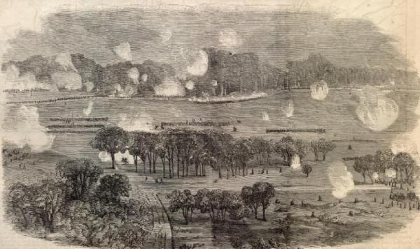At Cold Harbor - June 1, 1864 | Image Credit: CivilWarDailyGazette.com