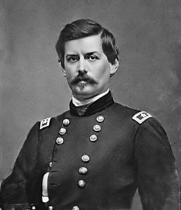 Maj Gen G.B. McClellan | Image Credit: Wikispaces