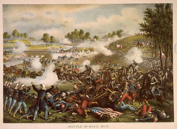 Battle of Bull Run | Image Credit: BlogSpot.com