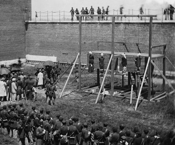 Execution of the four people condemned to death | Image Credit: Wikipedia.org