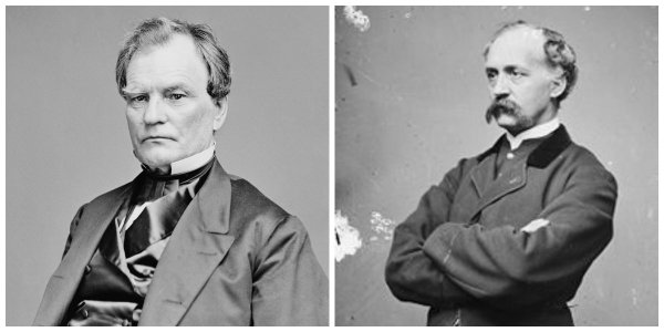 Sen. B.F. Wade and Rep. H.W. Davis   Image Credit: Wikipedia.org