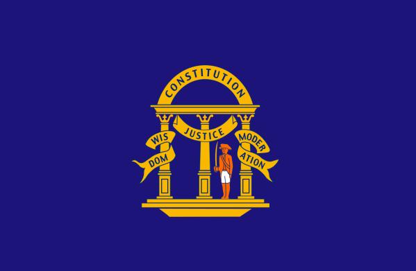 Georgia State Flag | Image Credit: Wikimedia.org