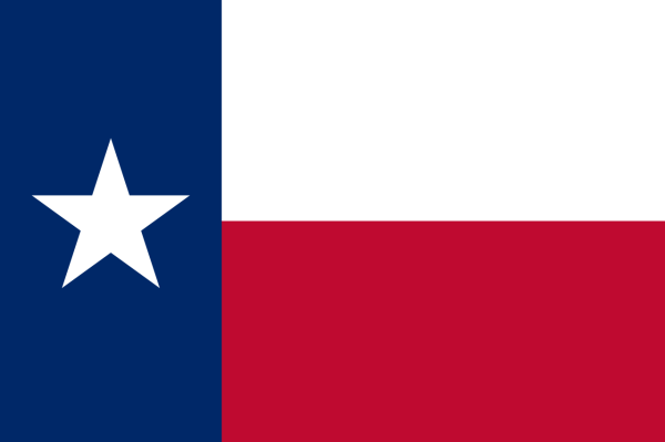 Texas State Flag | Image Credit: Wikimedia.org