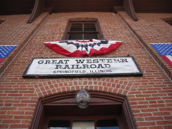 Springfield's Great Western Railroad | Image Credit: jfk50.blogspot.com