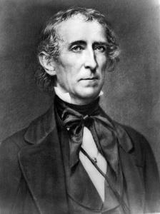 10th U.S. President John Tyler | Image Credit: Wikimedia.org