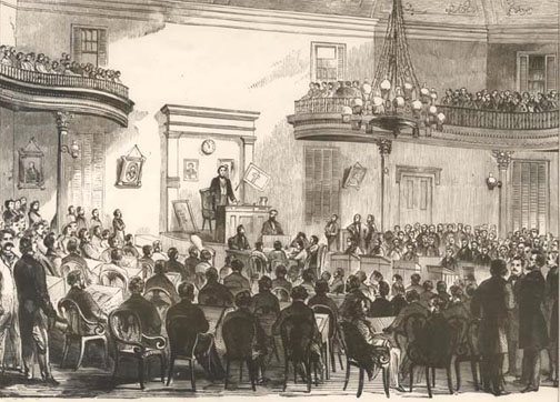 The Provisional Confederate Congress | Image Credit: CivilWarDailyGazette.com