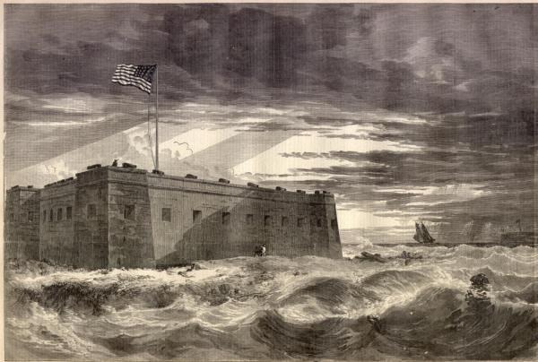 Fort Pickens on Santa Rosa Island | Image Credit: Wikimedia.org