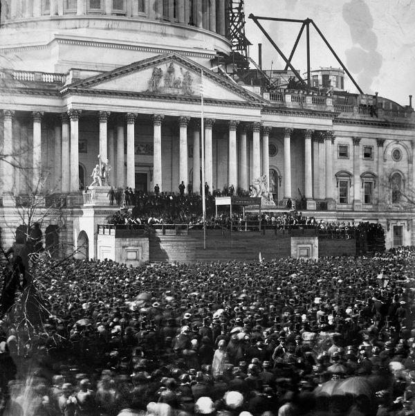 Lincoln's inauguration | Image Credit: Wikimedia.org