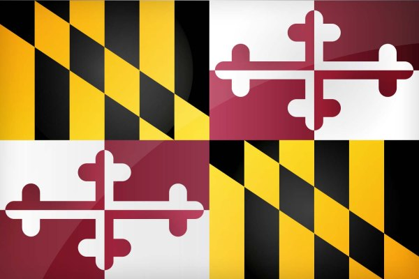 Maryland State Flag | Image Credit: All-Flags-World.com