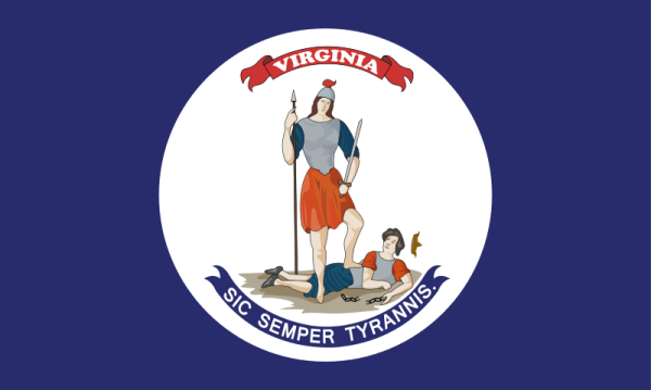 Virginia State Flag | Image Credit: Wikispaces.com