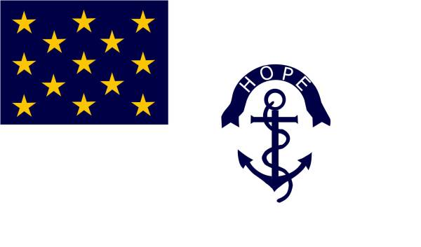 Rhode Island Regiment Flag | Image Credit: Wikipedia.org