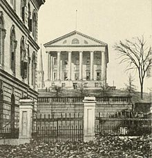 The new Confederate Capitol at Richmond | Image Credit: Wikimedia.org