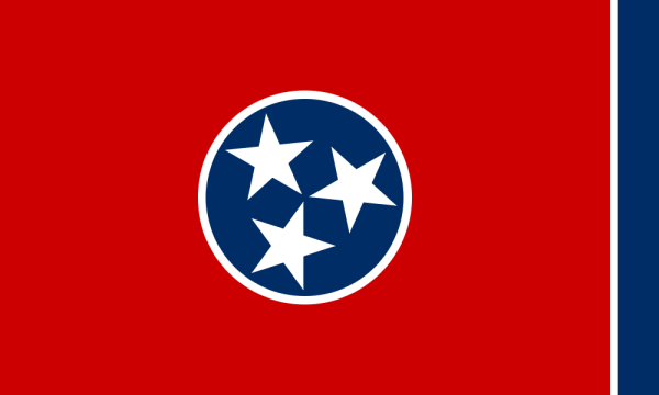 The Tennessee State Flag | Image Credit: Wikipedia.org