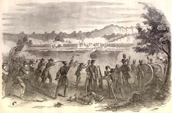 The Battle of Carthage, or Dry Fork Creek | Image Credit: Wikipedia.org