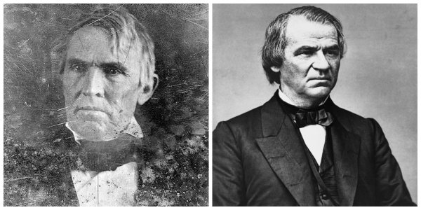 John J. Crittenden and Andrew Johnson | Image Credit: Wikipedia.org