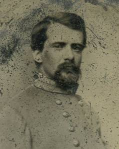 Confederate Lt Col John Pegram | Image Credit: CivilWarDailyGazette.com