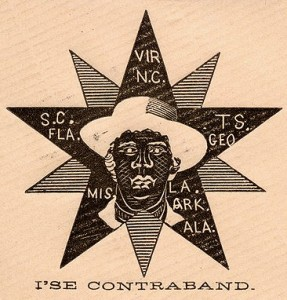 "Slaves as ""contraband of war"" 