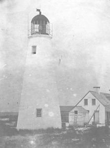 Ship Island lighthouse built in 1853 | Image Credit: Wikipedia.org