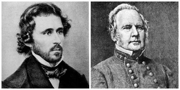 Gens John C. Fremont and Sterling Price | Image Credit: Wikimedia.org