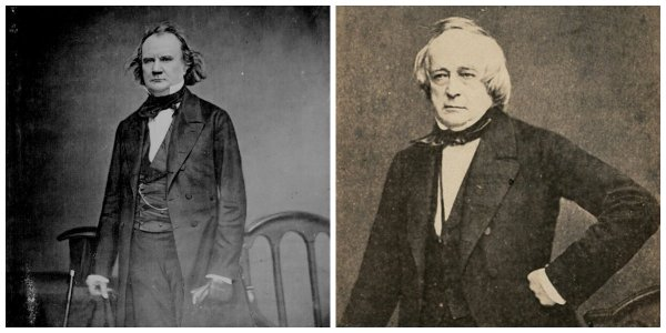 Confederate envoys James M. Mason and John Slidell | Image Credit: CivilWarDailyGazette.com