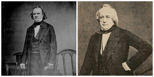 Confederate envoys James M. Mason and John Slidell | Image Credit: CivilWarDailyGazette.com