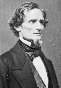 Confederate President Jefferson Davis | Image Credit: Wikipedia.org