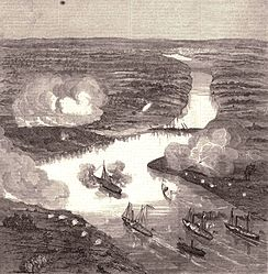 Action at Drewry's Bluff | Image Credit: Wikipedia.org