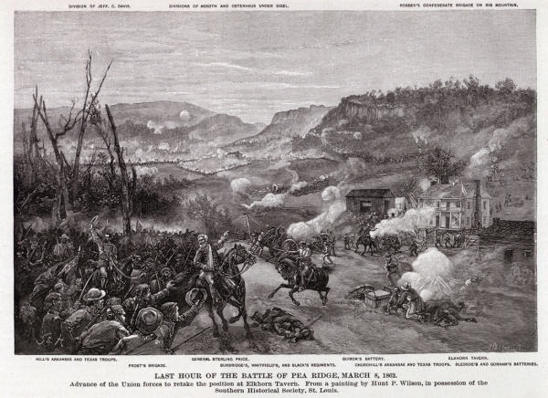 Day 2 fighting | Image Credit: CivilWarDailyGazette.com