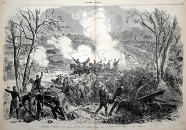 The Battle of Shiloh: Day 2 | Image Credit: CivilWarDailyGazette.com