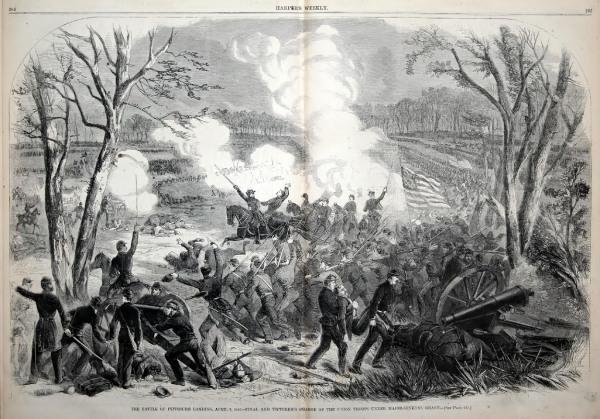 The Battle of Shiloh: Day 2 | Image Credit: CivilWarDailyGazette.com