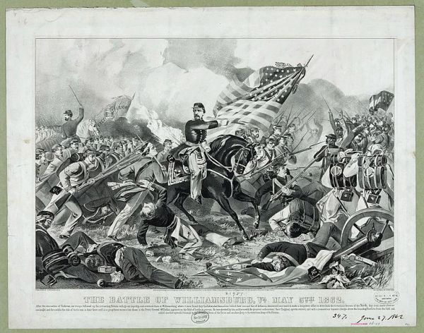 The Battle of Williamsburg | Image Credit: Wikipedia.org