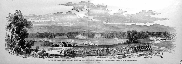 Battle of Cross Keys | Image Credit: CivilWarDailyGazette.com