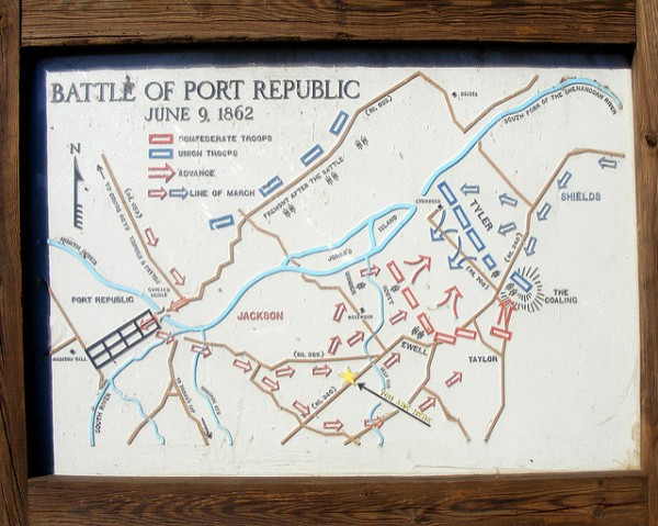 The Battle of Port Republic | Image Credit: Flickr.com